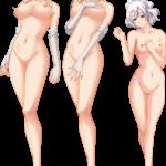【キャラ素材】裸の立ち絵のPNG透過素材ばかりを集めてみた 第18弾