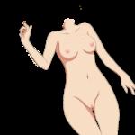 【コラ素材】エロコラに使える「女の体」素材 顔なし体だけ素材 その15