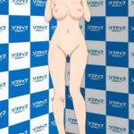 【自作剥ぎコラエロコラ】ラブライブ!サンシャイン!!渡辺曜ちゃんのダブルピースエロコラ作成