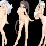 【裸の立ち絵】立ち絵のPNG背景透過素材ばかりを集めてみた 第41弾