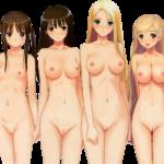 【裸の立ち絵】立ち絵のPNG背景透過素材ばかりを集めてみた 第48弾