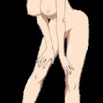 【アニメキャラ素材】アニメキャラのPNG背景透過エロ画像 その144