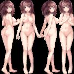 【裸の立ち絵】立ち絵のPNG背景透過素材ばかりを集めてみた 第141弾目