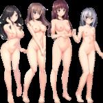 【裸の立ち絵】立ち絵のPNG背景透過素材ばかりを集めてみた 第154弾目