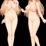 【裸の立ち絵】立ち絵のPNG背景透過素材ばかりを集めてみた 第170弾目