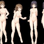 【裸の立ち絵】立ち絵のPNG背景透過素材ばかりを集めてみた 第199弾目