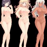【裸の立ち絵】立ち絵のPNG背景透過素材ばかりを集めてみた 第202弾目